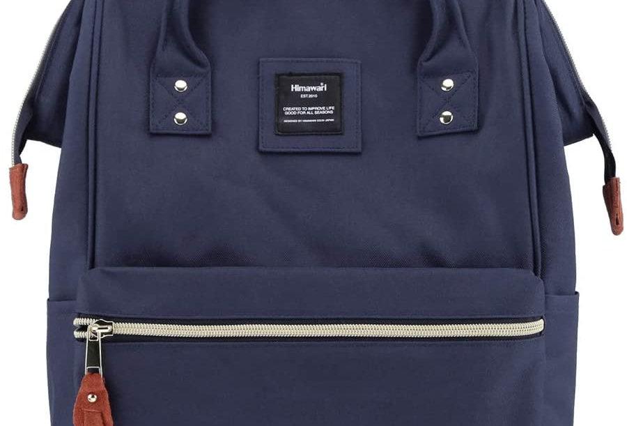 "Himawari Holly Daze 15"" Laptop Backpack(9001)-Navy"