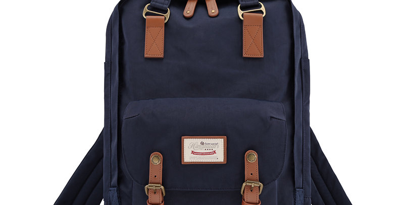 "Himawari Buttercup 17"" Laptop Backpack(HM188XL)-Navy"