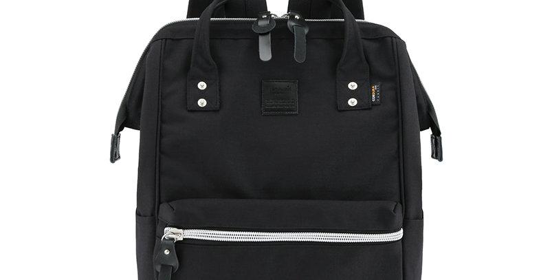 "Himawari Saffron 17"" Laptop Backpack(1882)-Black"
