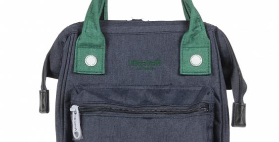 Himawari Petunia 3-Way Sling Bag(SS913)-Navy