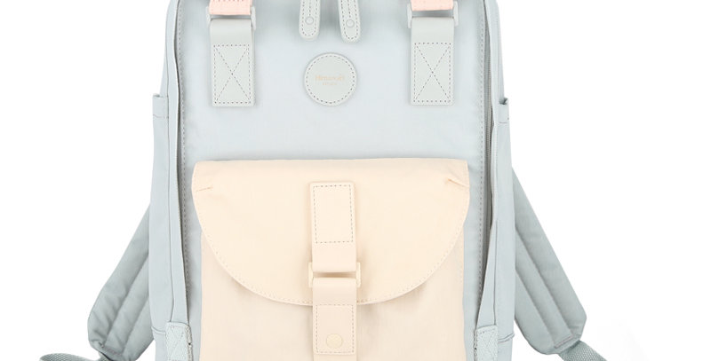 "Himawari Dianella 14"" Laptop Backpack (200)-Nude/Pastel Blue"