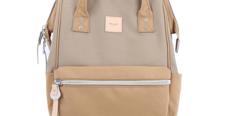 """Himawari Sorrel 13"""" Laptop Backpack BP(1881)-Camel/Khaki"""