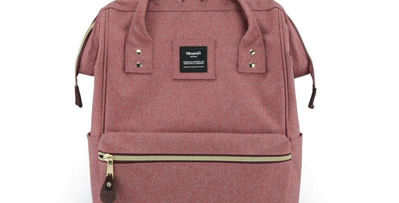 """Himawari Holly Daze 15"""" Laptop Backpack(9001)-Old Rose"""