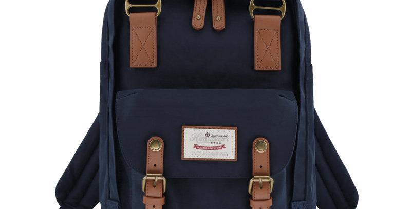 "Himawari Buttercup 14"" Laptop Backpack(HM188L-28)-Navy"