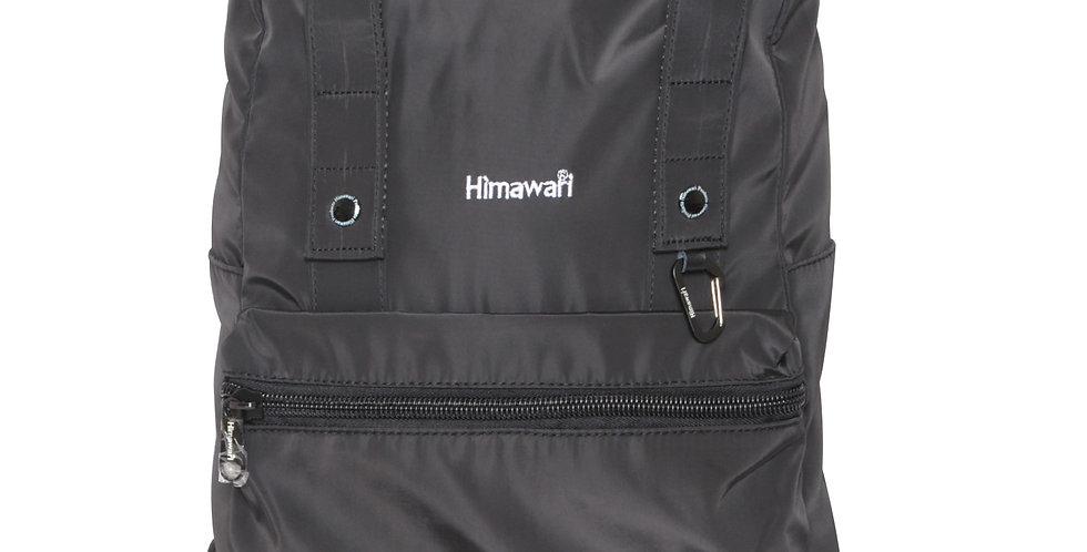 """Himawari Juniper 15"""" Rolltop Backpack-Black"""