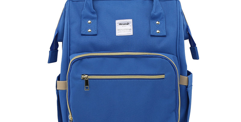 Himawari Carnation Diaper Backpack(1209)-Cobalt Blue