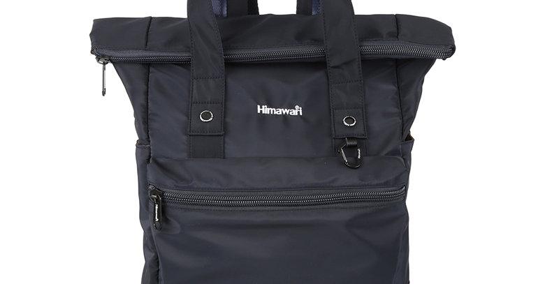 """Himawari Juniper 15"""" Laptop Backpack(H1681)-Navy Blue"""