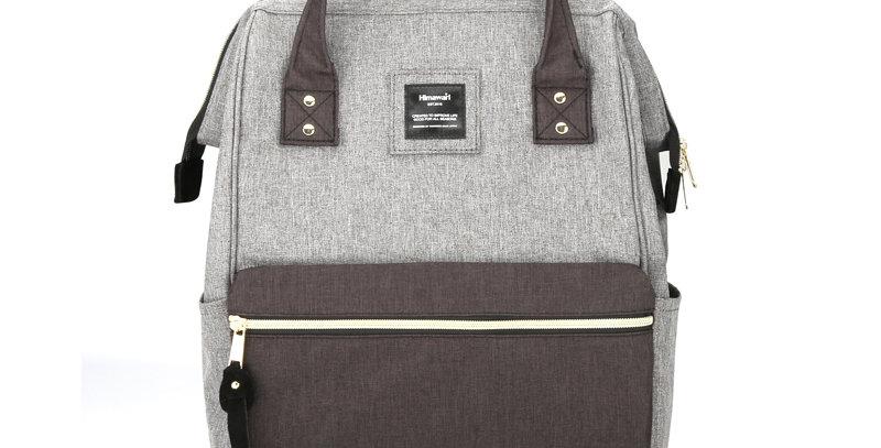 "Himawari Holly Daze 15"" Laptop Backpack(9001)-Dark Gray/Black"