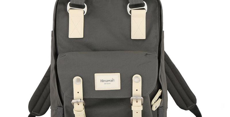 "Himawari Buttercup 14"" Laptop Backpack(HM188L-69) Charcoal/Gray"
