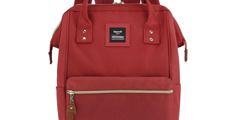 """Himawari Holly Daze 15"""" Laptop Backpack(9001)-Red"""