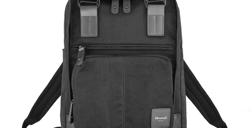 "Himawari Daphne 13"" Laptop Backpack PB(187-01)-Black"