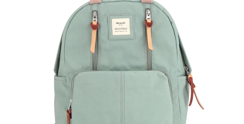 """Himawari Freesia 14"""" Laptop Backpack (186)-Gray/Blue"""