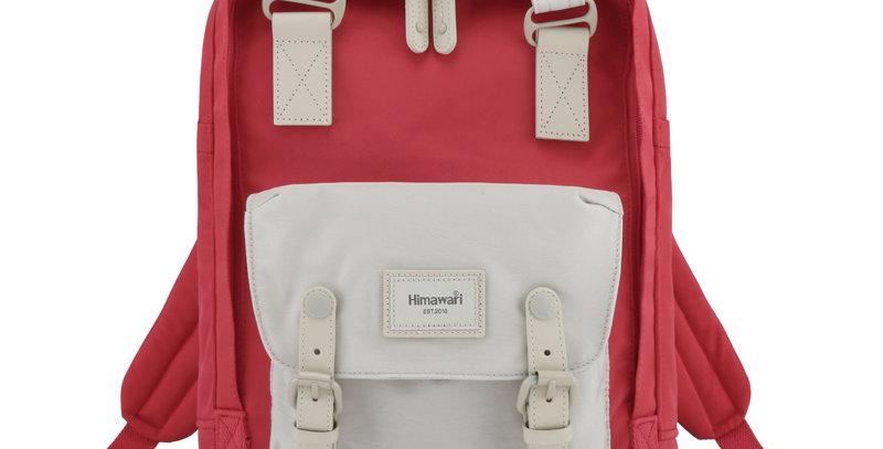 """Himawari Buttercup 14"""" Laptop Backpack(HM188L)-Cream/D.Orange"""