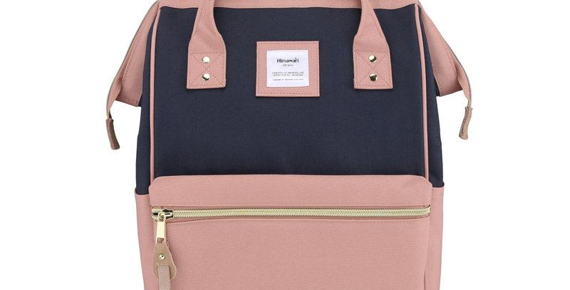 "Himawari Holly Daze 15"" Laptop Backpack(9001)-Cute Pink/Navy"