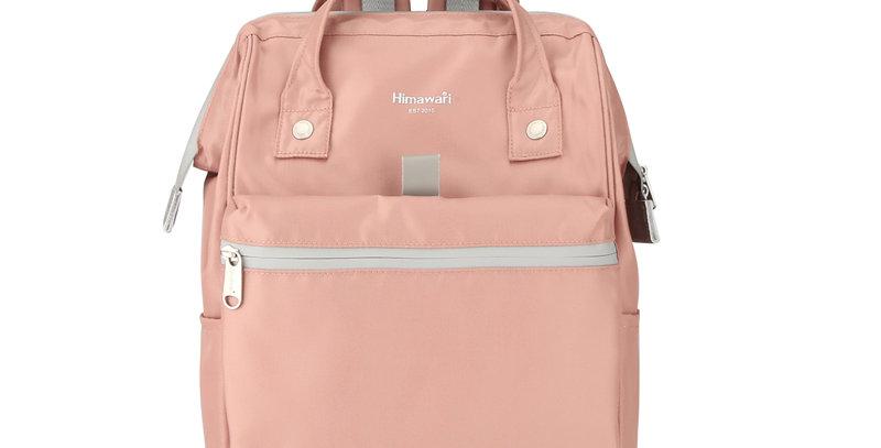 """Himawari Hana 14"""" Laptop Backpack (FSO-002)-Nude Pink"""