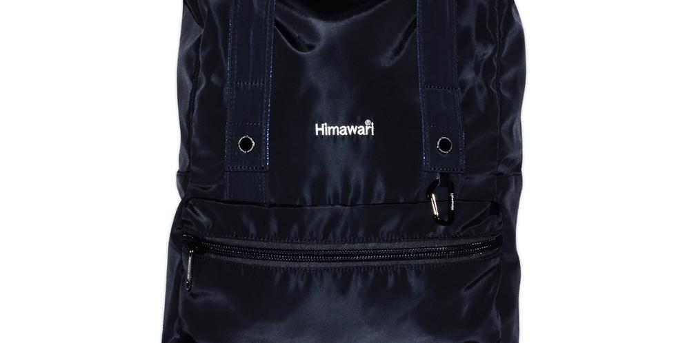 """Himawari Juniper 15"""" Rolltop Backpack(1681)-Navy"""