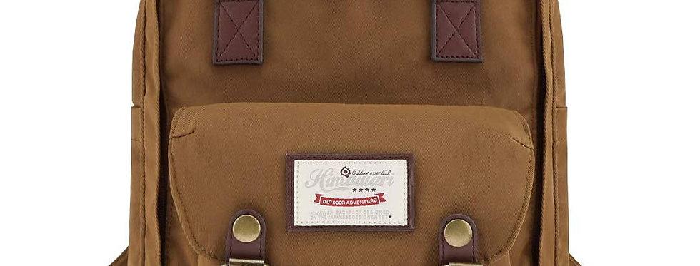 "Himawari Buttercup 11"" Laptop Backpack(HM188S-53)-Coffee Brown"