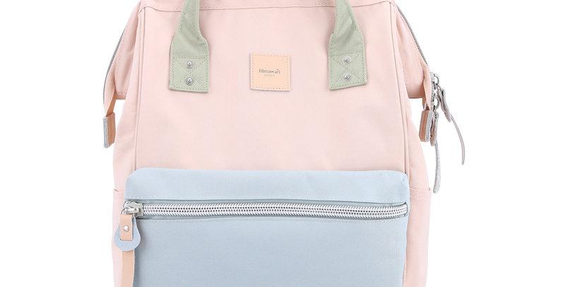 """Himawari Sorrel 13"""" Laptop Backpack BP(1881)-Pink/Blue"""