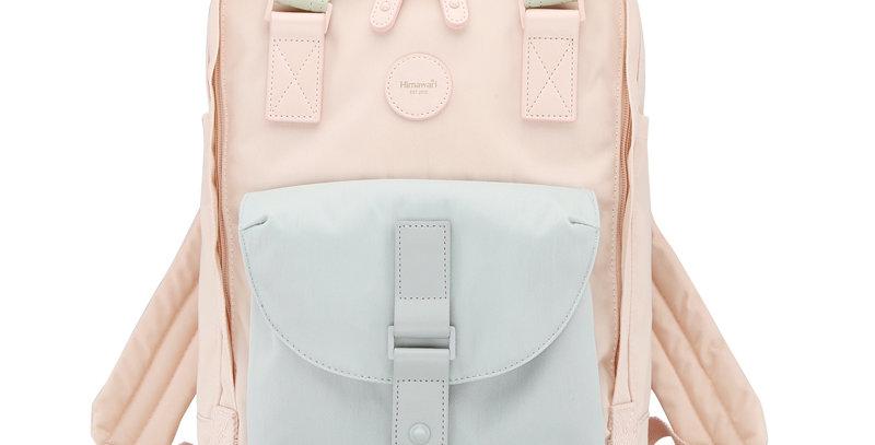 """Himawari Dianella 14"""" Laptop Backpack (200)-Pastel Blue/Pink"""