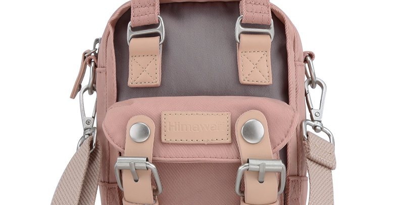 Himawari Buttercup Sling Bag(HM188XS-32)-Cute Pink/Mocha