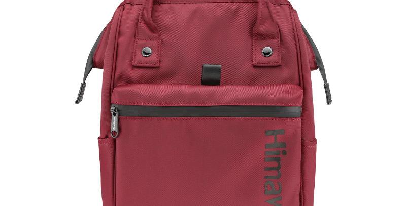 """Himawari Cedar 15"""" Laptop Backpack(FSO-H001)-Wine Red"""