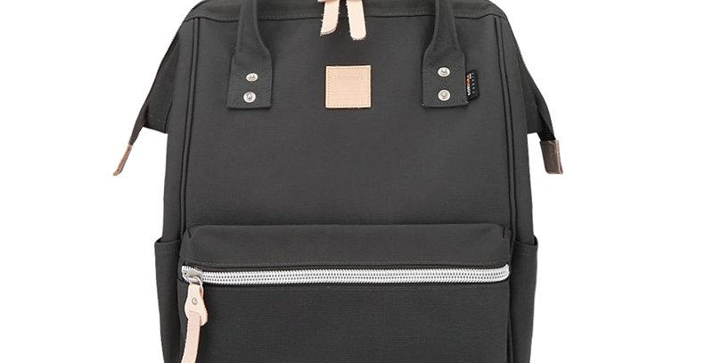 """Himawari Saffron 17"""" Laptop Backpack(1882)-Dark Gray"""