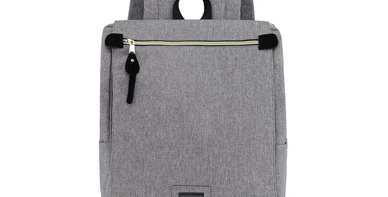 """Himawari Aster 14"""" Laptop Backpack(AT1112)-Dark Gray"""