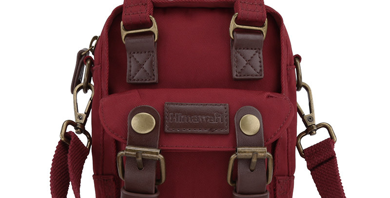 Himawari Buttercup Sling Bag(HM188XS-27)-Wine Red