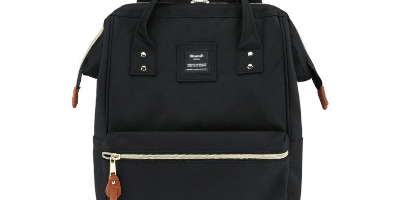 """Himawari Holly Daze 15"""" Laptop Backpack(9001)-Black"""