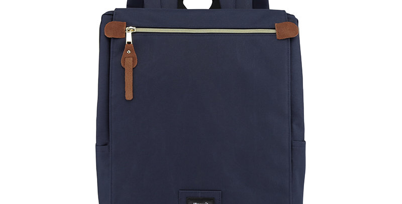 "Himawari Aster 14"" Laptop Backpack(AT1112)-Navy"