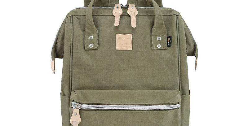 "Himawari Saffron 17"" Laptop Backpack(1882)-Khaki"