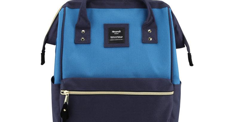 """Himawari Holly Daze 15"""" Laptop Backpack(9001)-Royal Blue/Navy"""