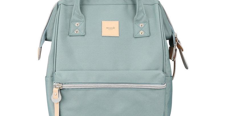 """Himawari Sorrel 13"""" Laptop Backpack BP(1881)-Greyish/Blue"""