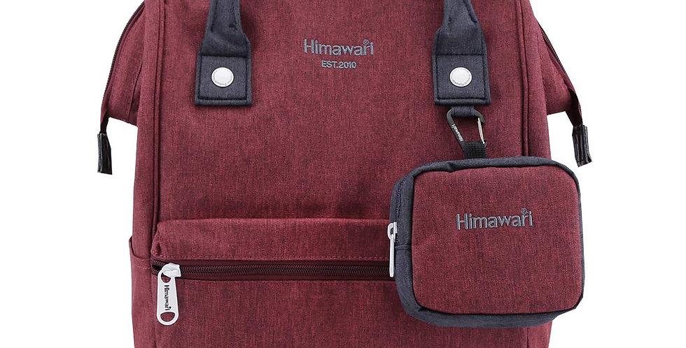 """Himawari Petunia 15"""" Laptop Backpack(2268)-Wine Red"""
