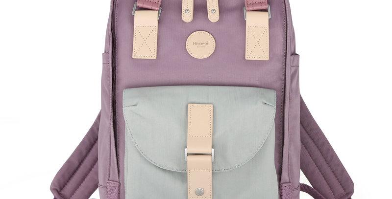 "Himawari Dianella 14"" Laptop Backpack (200)-Pastel Blue/Purple"