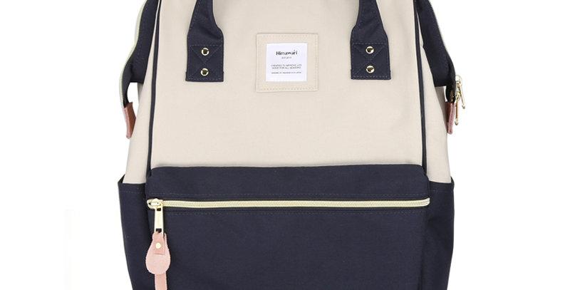 "Himawari Holly Daze 15"" Laptop Backpack(9001)-Gray/Navy"