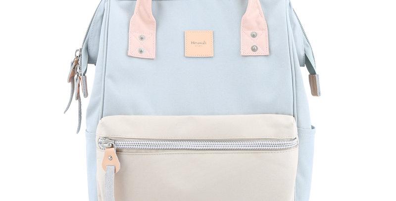 "Himawari Sorrel 13"" Laptop Backpack BP(1881)-Blue/Beige"