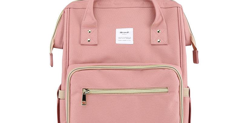 Himawari Carnation Diaper Backpack(1209)-Cute Pink