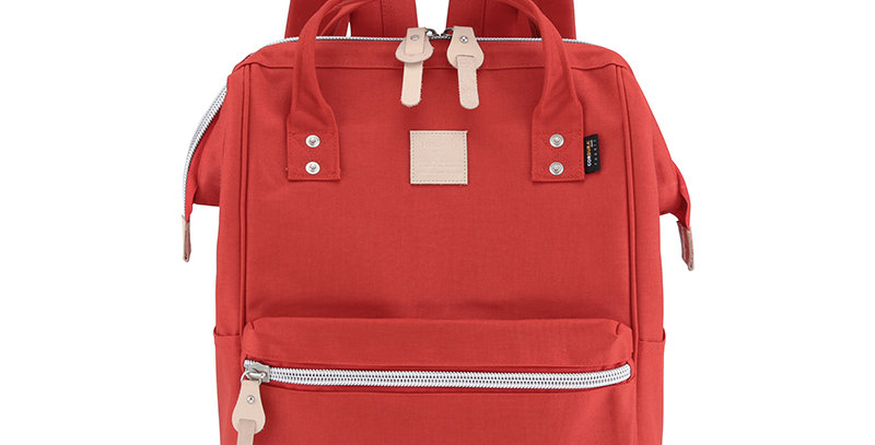 "Himawari Saffron 17"" Laptop Backpack(1882)-Red"