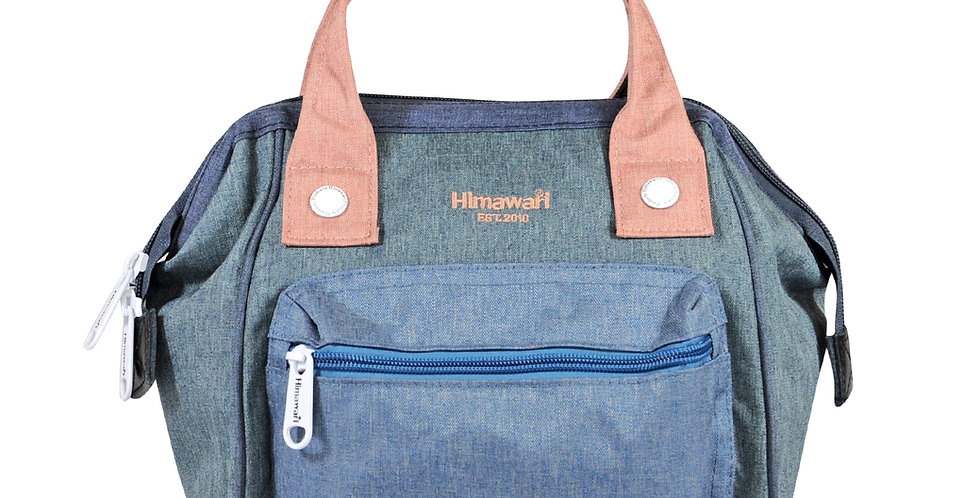 Himawari Petunia 3-Way Sling Bag(SS913)-Denim