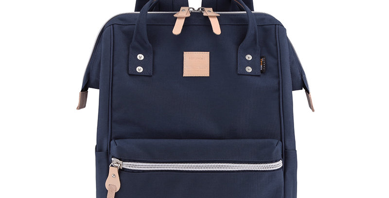 "Himawari Saffron 17"" Laptop Backpack(1882)-Navy"