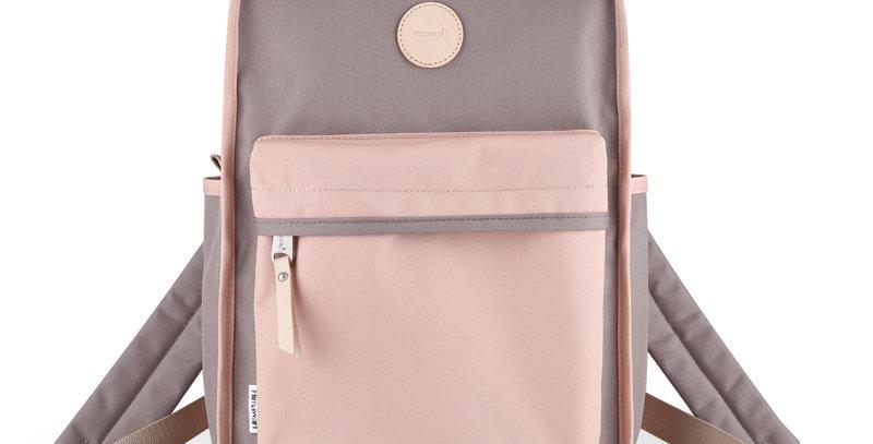 "Himawari Mallow 14"" Laptop Backpack(0827)-Cute Pink/Mocha"