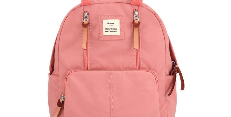"""Himawari Freesia 14"""" Laptop Backpack (186)-Pink"""