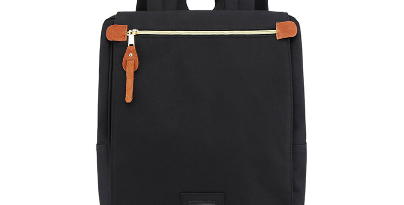 "Himawari Aster 14"" Laptop Backpack(AT1112)-Black"