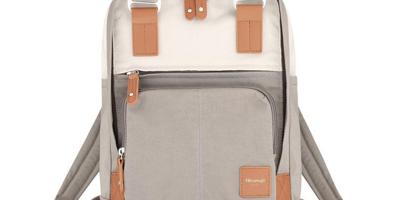 "Himawari Daphne 13"" Laptop Backpack PB(187-01)-D. Gray/Cream"