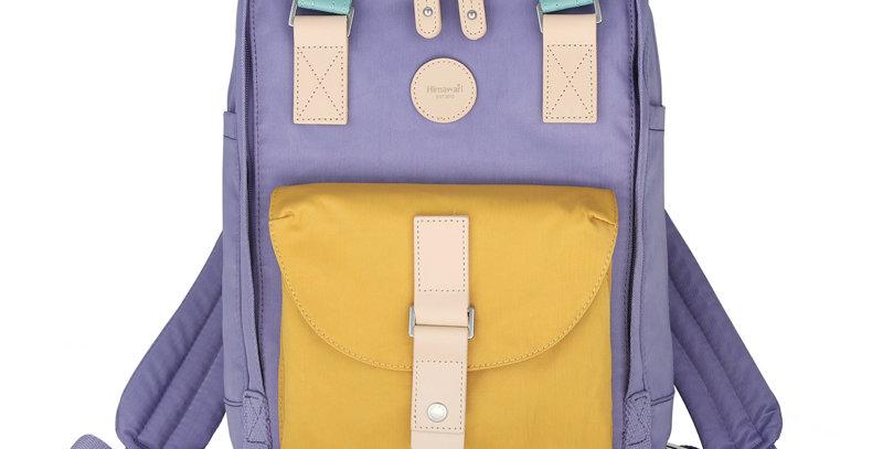 "Himawari Dianella 14"" Laptop Backpack (200)-Yellow/Blue"