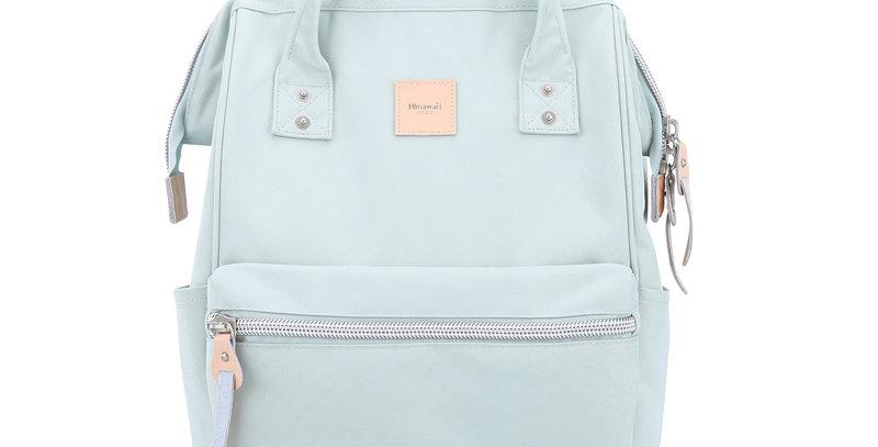 """Himawari Sorrel 13"""" Laptop Backpack BP(1881)-Greyish/Green"""