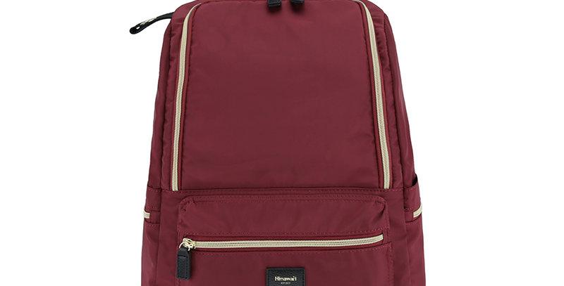 """Himawari Daffodil 14"""" Laptop Backpack(1006)-Wine Red"""
