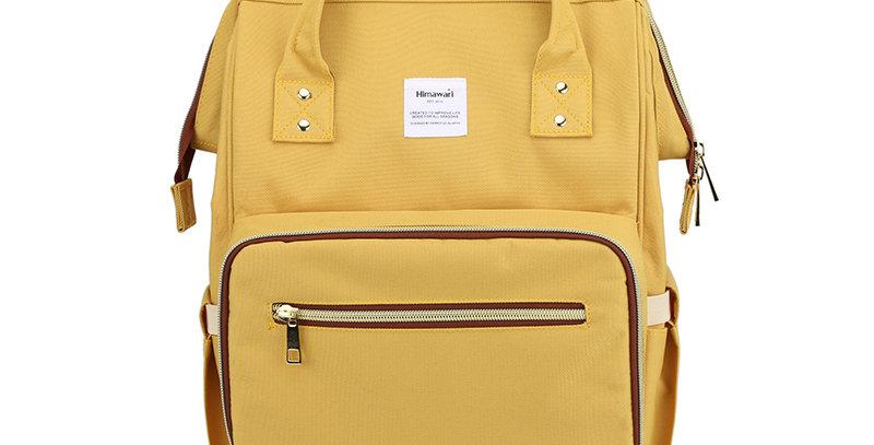 Himawari Carnation Diaper Backpack(1209)-Yellow