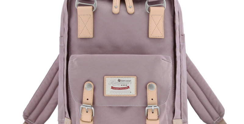 "Himawari Buttercup 14"" Laptop Backpack(HM188L-41)-Lavender"